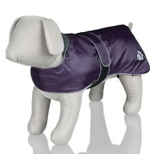 New Trixie Dogs Orleans Warm & Water Repellent Purple Coat For Dogs - All Sizes