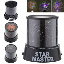 Lovers/Cupid/Moon/Star Romatic Cosmos Projector LED Starry Night Sky Light tl