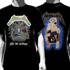 Metallica - Ride The Lightning Shirt (T-SHIRT 100% OFFICIAL MERCH NEW)