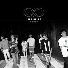 INFINITE - Reality (5th Mini Album) [Limited Edition] CD+Photobook+Card+Poster