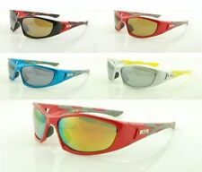 New XS Polarized Sport Wrap Around Sunglasses With Plastic Frames For Men Women.