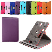 """360° Rotating Flip PU Leather Case Cover For For 7"""" Inch Tablet PC Universal"""