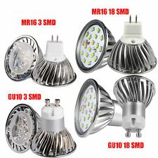 GU10 MR16 3W/4W/5W/9W 3/18 pcs SMD Led spotlight ceiling lamp Replacement bulb