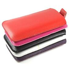 2in1 Smart Leather Pull Up Flip Case Cover Pouch Sleeve Skin For Mobile Phones