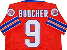 THE WATERBOY MOVIE - BOBBY BOUCHER JERSEY ORANGE NEW   SMALL
