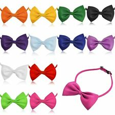 6X Men Women Kids Adjustable Tuxedo Prom Bowknot Bow Tie Collar Party Wedding