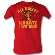 Karate Kid - Mens New Cobra Kai T-Shirt In Red