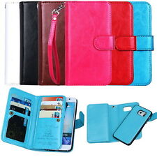 New Leather Wallet Flip Case Cover+Cards pouch For Samsung Galaxy S6/S6 Edge