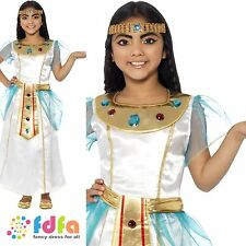 KIDS DELUXE CLEOPATRA EGYPTIAN TOGA - 4-12 years - girls fancy dress costume