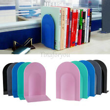 """7.8"""" L-Shaped Anti-skid Bookends Shelf Book Case Holder Home Office Stationery"""