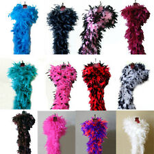 100g Feather Chandelle Boa for Halloween Party costume cosplay 6 feet long Fun