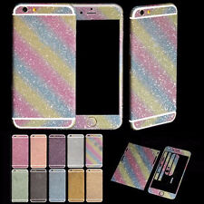 Diamond Glitter Bling Full Body Decal Skin Sticker Case Cover For Smart Phones