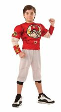 Boys Child Muscle Chest JOHN CENA WWF WWE Deluxe Licensed Costume