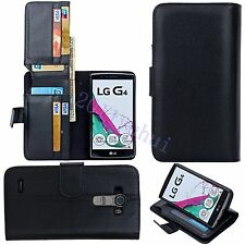 New For LG G4 Case Soft Leather Wallet Magnetic Stand Cover Skin With Card Pouch