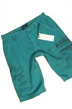 SOLID JEANS BRISSON - Bermuda - Shorts - Turquoise - Size M