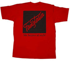 Adult Men's True Blood TV Show Fangtasia Life Begins At Night Red T-Shirt Tee