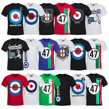 Lambretta Mens T-Shirt Casual Shirt Tee S M L XL 2XL 3XL 4XL 5XL 6XL new