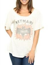 Junk Food Batman! Vintage Inspired Slub Heartbreaker Off The Shoulder Sugar Crea