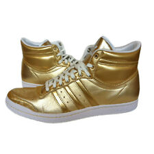 Adidas Top Ten Hi Sleek W Shoes Trainers Size 40-41-42-43-44 Gold New