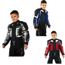 Viper Draco Waterproof  MOTORCYCLE MOTORBIKE Textile Child Kids Jacket CE Armour