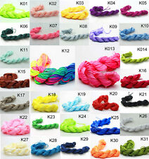 New 28M/roll 1mm Chinese Knotting Nylon Thread Cord Beading Bracelet Rope pick