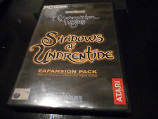 Neverwinter Nights: Shadows of Undrentide  Expansion Pack for windows/pc