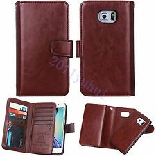 For Samsung Galaxy Note 5/S6 edge Plus Luxury Leather wallet+phone Case Cover
