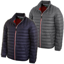 Tommy Hilfiger Golf Mens Nigel Quilted Jacket Lightweight Thermal Duck Down
