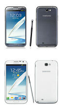 Unlocked 5.5 Inch Samsung Galaxy Note 2 3G Android GSM WIFI Smartphone 16GB  ^
