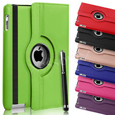 Cuero De 360 Grados Giratoria Smart Stand Funda Protectora Para iPad Air de Apple 4 3 2 Mini