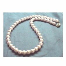 PINK Sea Shell Pearl Necklace Wedding Bridal Bridesmaids Gifts Prom 6mm 8mm 10mm