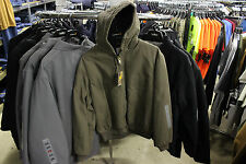 CARHARTT SANDSTONE DUCK MENS ACTIVE JAC JACKET QUILTED FLANNEL LINED NEW J130