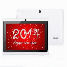 """7""""A23 Jelly Bean Google Android 4.2 Tablet PC 4GB Dual Core/Cameras WIFI 800*480"""