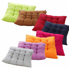 Home Office Decoration Square Soft Buttocks Seat Chair Cushion Pads Solid Pillow