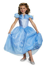 Girls Disney Fairytale Deluxe CINDERELLA PRESTIGE Princess New Movie Dress