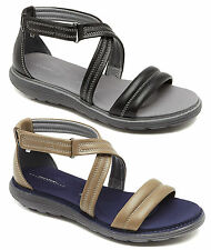 ROCKPORT TRUWALK ZERO ANKLESTRAP WOMENS/LADIES LEATHER COMFORTABLE SANDALS/SHOES