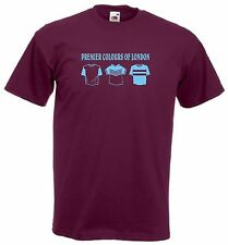 West Ham Premier Colours FC Football Club T-Shirt - All Sizes Available