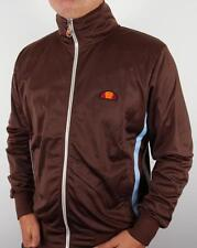 Ellesse Heritage - Gasp Track Top in Brown Retro RRP £60 Rimini Milan 80s
