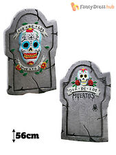 Day Of The Dead Tombstones Graveyard Mexican Halloween Party Decorartion Prop