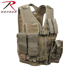 Rothco 5384 Kid's Tactical Cross Draw Vest - MultiCam