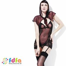 SEXY FEVER STORYBOOK MISS RED RIDING - 8-18 - womens ladies fancy dress costume