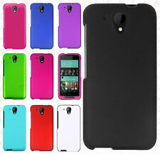 For HTC Desire 520 Rubberized HARD Protector Case Snap On Phone Cover Accessory