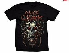 ALICE COOPER - Skull Spider - T SHIRT S-M-L-XL-2XL Brand New - Official T Shirt