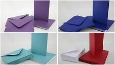 Craft UK C6 A6 30 X Blank Cards And Envelopes Card Making Crafting