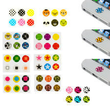 Menu Home Button Sticker Skin Cover for iPhone 5 5G 4 4G 4S 3GS iPod Touch Nano