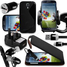 25.4cm 1 Bundle Accessory Kit Case Car Holder Charger For Samsung Galaxy S4