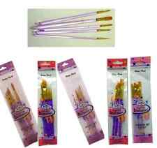 INSPIRATIONS PAINT BRUSH SET OIL WATERCOLOUR ACRYLIC PAINTING ARTIST CRAFT HOBBY