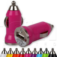 CAR CHARGER ADAPTOR MINI TRAVEL USB ADAPTER PLUG FOR LG MOBILE PHONES
