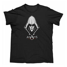 ASSASSINS CREED UNITY Black Men's T-Shirt CHOOSE SIZE: S M L XL Christmas Gift