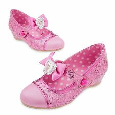 Disney Store Minnie Mouse Costume Pink Dress Shoe Girl Size 9/10